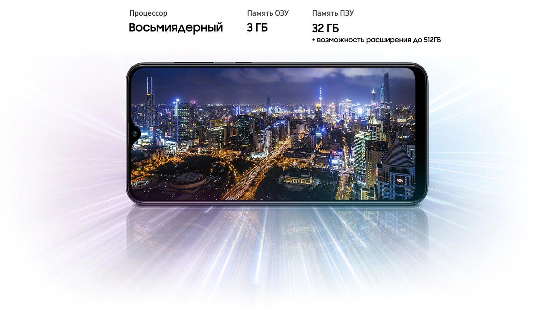 Samsung A20s 32Gb + чехол силикон