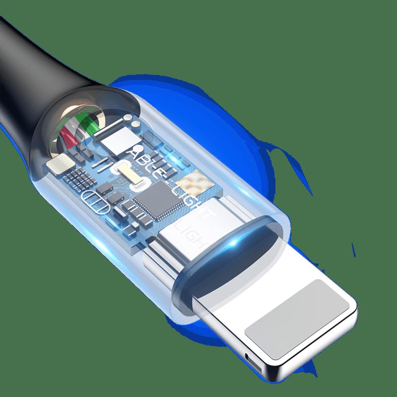 Baseus C-shaped Light Intelligent power-off Cable