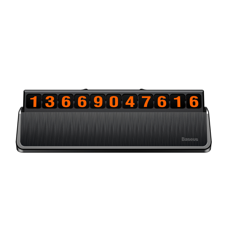 Baseus hermit Temporary Parking Number Card